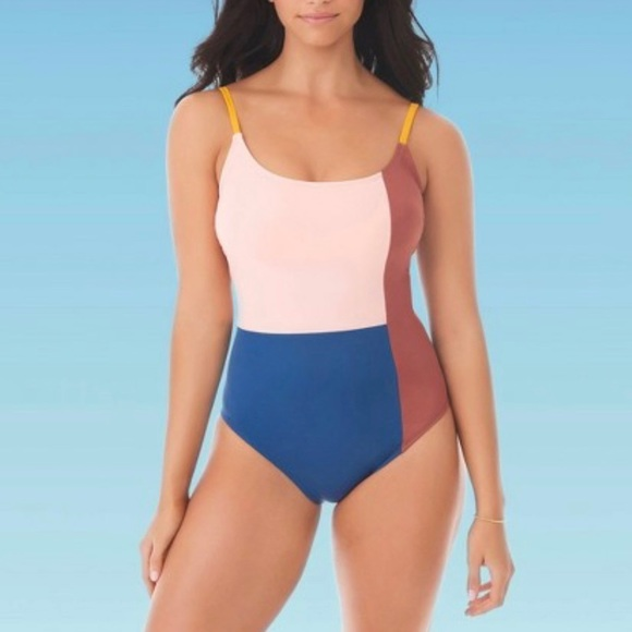 BEACH BETTY by MIRACLE BRANDS Swimsuit Colorblock